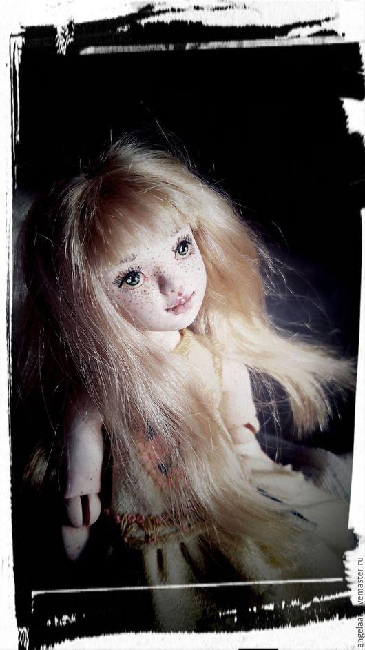 Коллекционные куклы ручной работы. Ярмарка Мастеров - ручная работа. Купить Весенняя Карамелька (шарнирная кукла). Handmade. Комбинированный