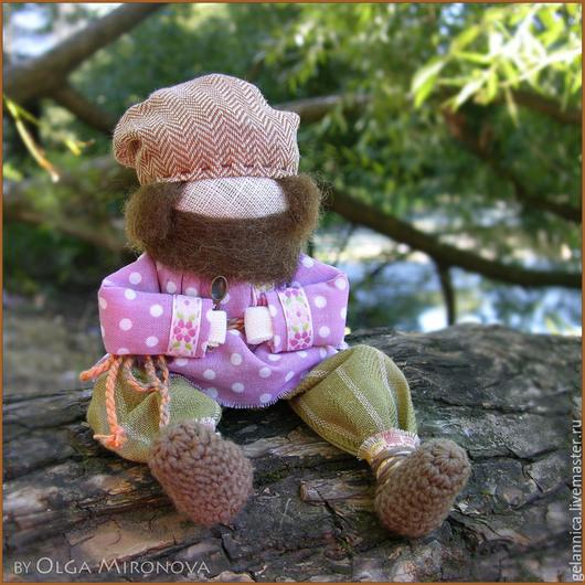 Народные куклы ручной работы. Ярмарка Мастеров - ручная работа. Купить Храмовничек. Handmade. Домовенок, оберег для дома, текстильная кукла