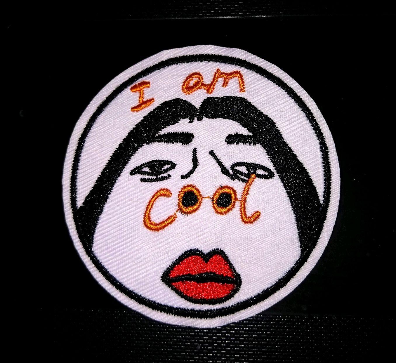 """Нашивка """"I'm cool"""", Аппликации, Москва,  Фото №1"""