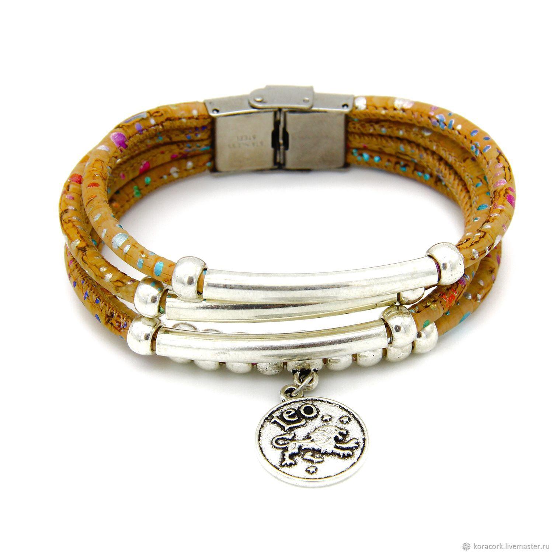 Gifts for Zodiac Signs handmade. Livemaster - handmade. Buy Eco bracelet to the lion of the zodiac Leo from oak handmade B0145co/p1.