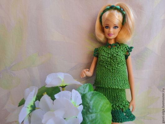 """Одежда для кукол ручной работы. Ярмарка Мастеров - ручная работа. Купить Наряд для куклы Барби """"Весенний"""". Handmade. Одежда для кукол"""