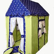 """Домики ручной работы. Ярмарка Мастеров - ручная работа Детский домик-палатка """"Лимонный домик"""". Handmade."""