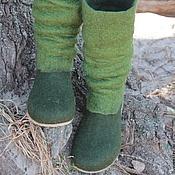 """Обувь ручной работы. Ярмарка Мастеров - ручная работа Валяные туфельки """"Style """"mari_tyme"""". Handmade."""