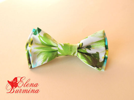 Галстуки, бабочки ручной работы. Ярмарка Мастеров - ручная работа. Купить Бабочка галстук зелень. Handmade. Абстрактный, зеленый