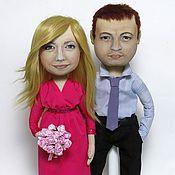 Куклы и игрушки ручной работы. Ярмарка Мастеров - ручная работа Портретные куклы. Пара №1. Handmade.