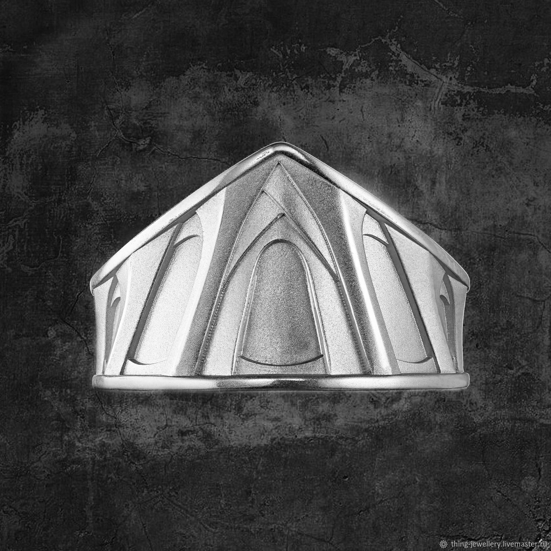 Кольцо серебряное SAGRADA FAMILIA Гауди, Кольца, Москва,  Фото №1