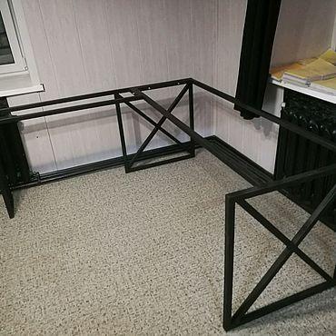 Мебель ручной работы. Ярмарка Мастеров - ручная работа Металокаркасы в стиле лофт. Handmade.