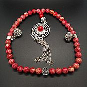 Фен-шуй и эзотерика handmade. Livemaster - original item Beads made of Jasper. Handmade.