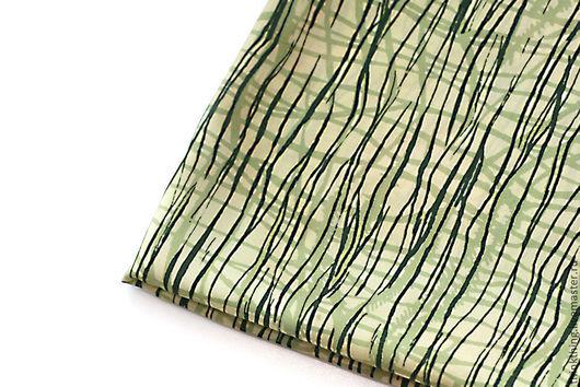 Винтажная одежда и аксессуары. Ярмарка Мастеров - ручная работа. Купить Шелковый платок с абстрактным рисунком (1980-е). Handmade. винтажный