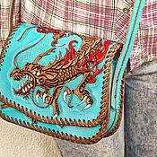 Сумки и аксессуары handmade. Livemaster - original item Leather women`s bag