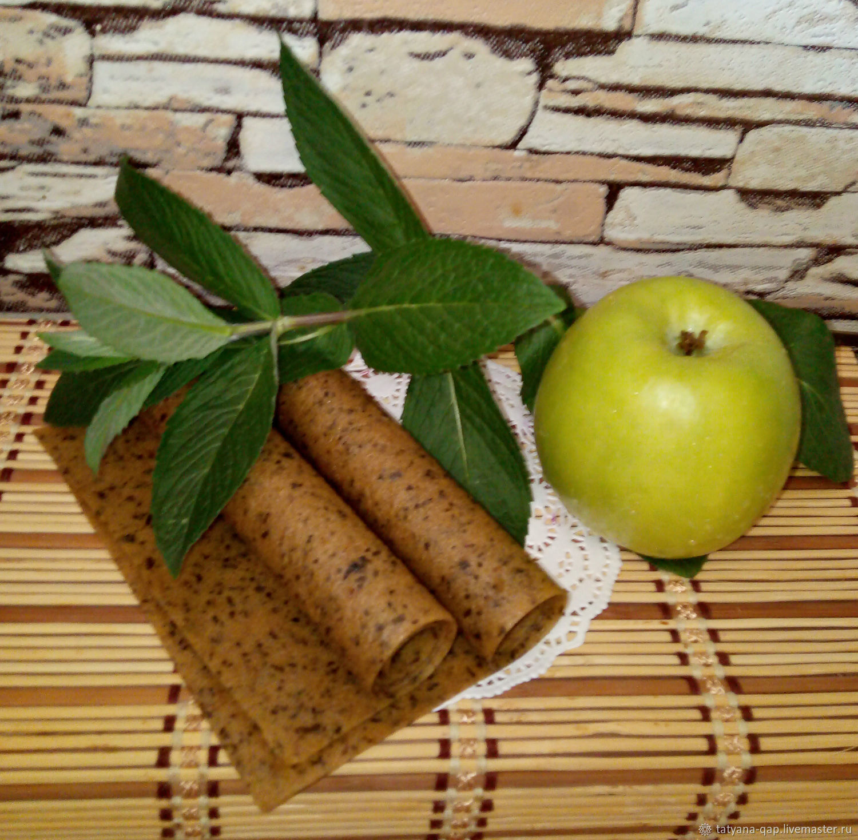 Пастила Зеленое яблоко-Мята. Фруктовая пастила – купить на Ярмарке Мастеров – LJLJ4RU | Кулинарные сувениры, Тихорецк