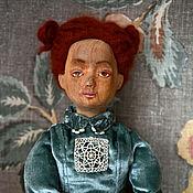 Куклы и игрушки ручной работы. Ярмарка Мастеров - ручная работа Деревянная кукла Муся. Handmade.
