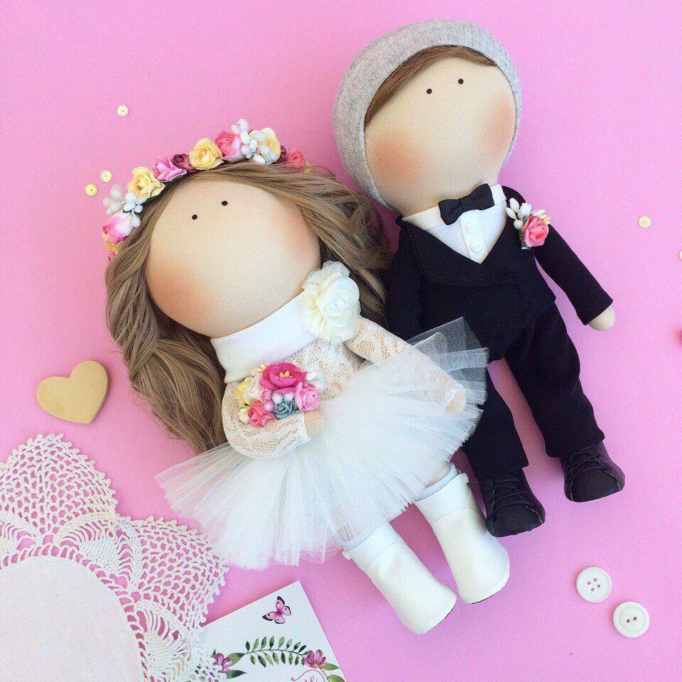 Куклы на свадьбу своими руками