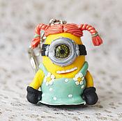 Аксессуары handmade. Livemaster - original item keychain Minion. Handmade.
