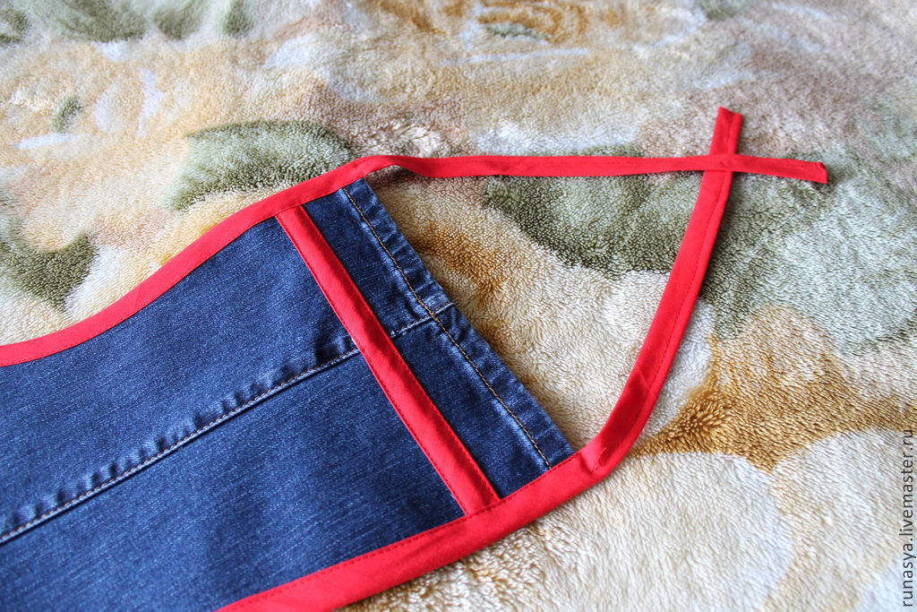 Фартук из джинсов с доставкой