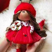 Тыквоголовка ручной работы. Ярмарка Мастеров - ручная работа Куклы: интерьерная кукла. Handmade.