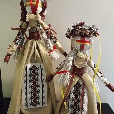 Куклы и игрушки ручной работы. Ярмарка Мастеров - ручная работа Кукла-мотанка Берегиня. Handmade.