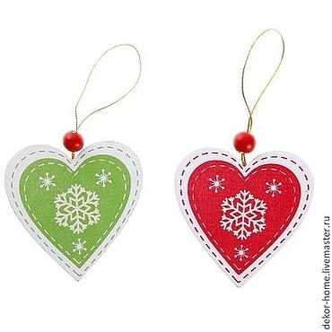Materials for creativity handmade. Livemaster - original item Charm pendants Christmas
