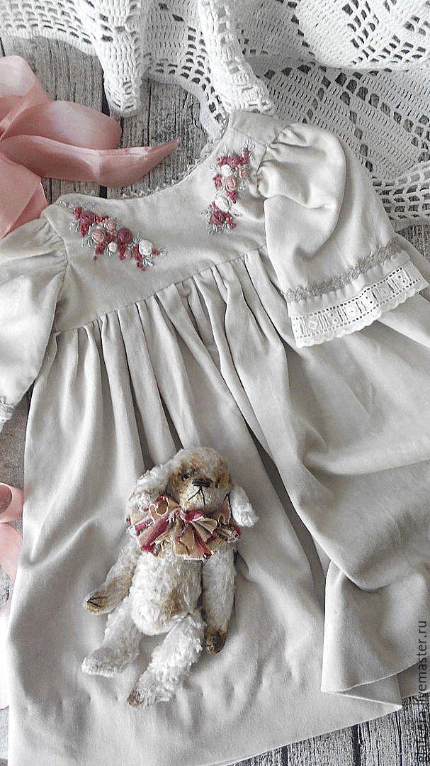 Как вышивать платья для кукол
