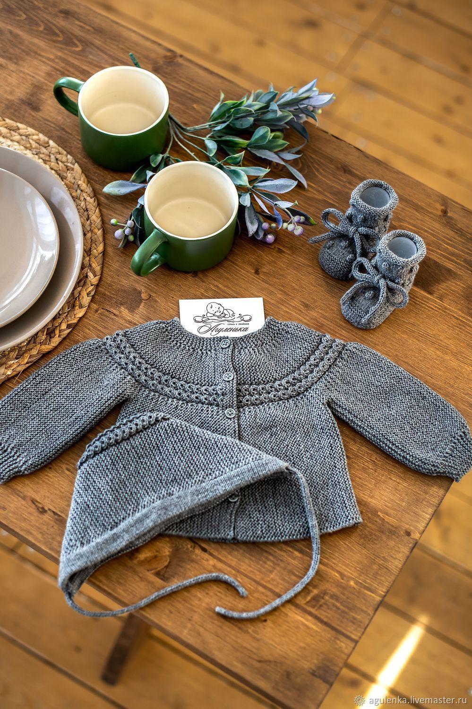 Комплект для новорожденного универсальный, серый, Комплекты одежды для малышей, Петрозаводск,  Фото №1