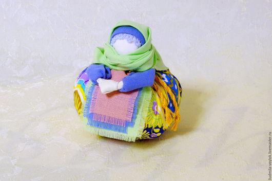 Народные куклы ручной работы. Ярмарка Мастеров - ручная работа. Купить Кукла - оберег Благополучница или Домовушка. Handmade. Комбинированный