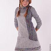 Одежда ручной работы. Ярмарка Мастеров - ручная работа Валяный платье-сарафан. Handmade.