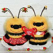 Куклы и игрушки ручной работы. Ярмарка Мастеров - ручная работа Любоффффф)))пчёлки вязаные.. Handmade.