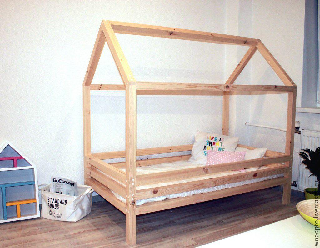 Как сделать кровать для детскую кровать