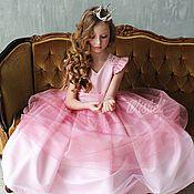 """Работы для детей, ручной работы. Ярмарка Мастеров - ручная работа Нарядное платье для девочки """"Принцесса"""" рост от 98 до 146. Handmade."""