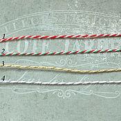 Материалы для творчества ручной работы. Ярмарка Мастеров - ручная работа Шпагаты. Handmade.