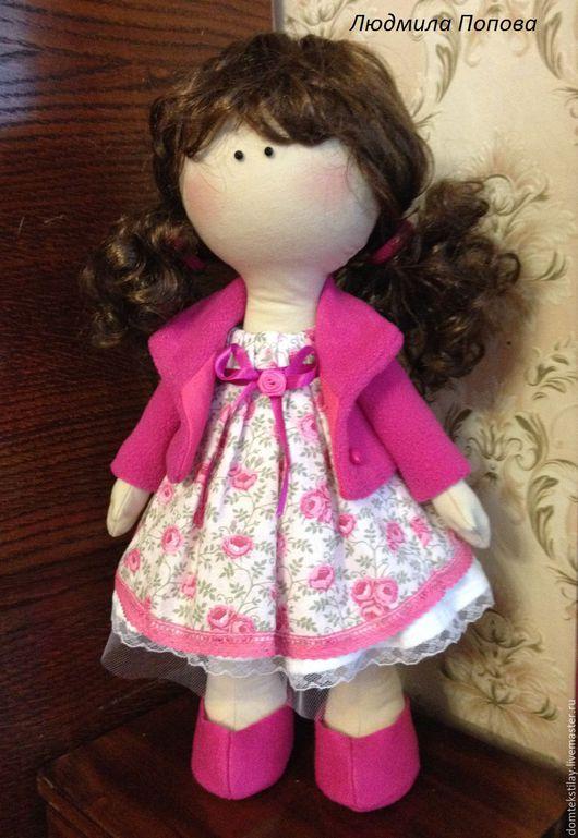 Коллекционные куклы ручной работы. Ярмарка Мастеров - ручная работа. Купить Текстильная кукла. Handmade. Комбинированный, интерьерная кукла