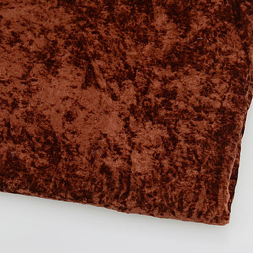 Materials for creativity handmade. Livemaster - original item Fabric: Plush Brown. Handmade.
