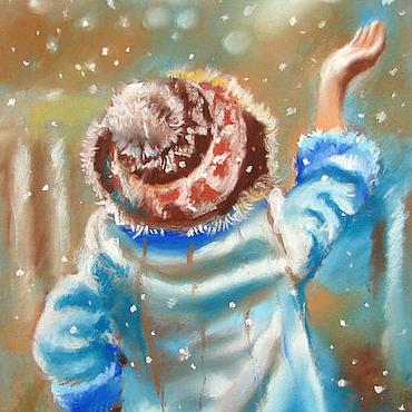 Картины и панно ручной работы. Ярмарка Мастеров - ручная работа Снежинки. Handmade.