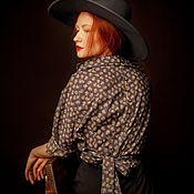 """Одежда ручной работы. Ярмарка Мастеров - ручная работа Блузка """"Serenita"""". Handmade."""