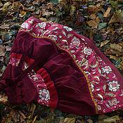 """Одежда ручной работы. Ярмарка Мастеров - ручная работа Бохо-юбка """"Вкусная ягода"""". Handmade."""