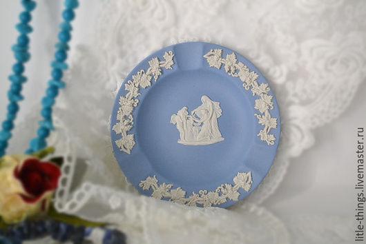 Винтажная посуда. Ярмарка Мастеров - ручная работа. Купить Пепельница WEDGWOOD Англия. Handmade. Голубой, винтаж, винтажный, старинный, старина