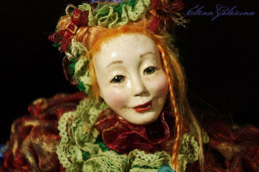 """Коллекционные куклы ручной работы. Ярмарка Мастеров - ручная работа. Купить Кукла """" Укротительница черепах"""". Handmade. Кукла"""