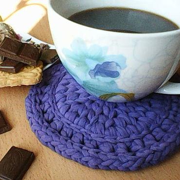 Для дома и интерьера ручной работы. Ярмарка Мастеров - ручная работа Подставка для чашки.. Handmade.