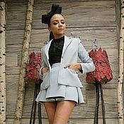 """Одежда ручной работы. Ярмарка Мастеров - ручная работа Жакет и юбка """"Miss V"""". Handmade."""