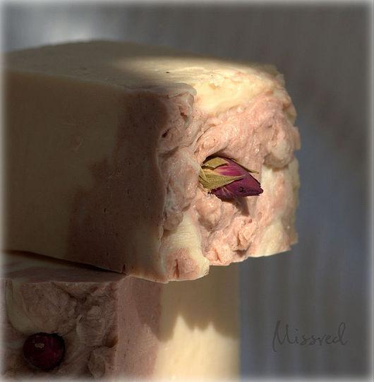 Мыло ручной работы. Ярмарка Мастеров - ручная работа. Купить Розовый Шелк. Натуральное мыло ручной работы.. Handmade. Розовый