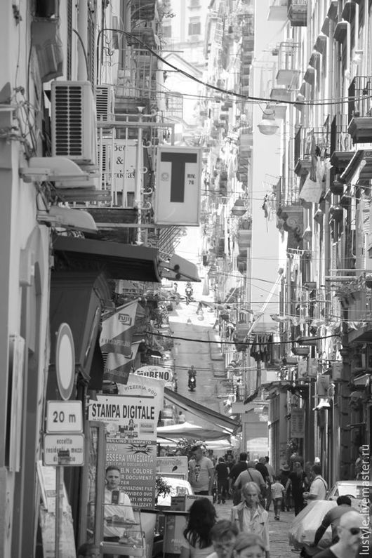 LuStyle. Авторская фоторабота `Улица Неаполя`, Неаполь, 2015 г.