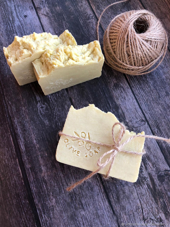 Кастильское мыло. Натуральное оливковое мыло ручной работы, Мыло, Набережные Челны,  Фото №1
