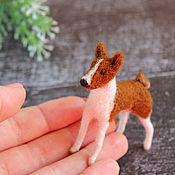Куклы и игрушки handmade. Livemaster - original item The smallest basenji. Handmade.