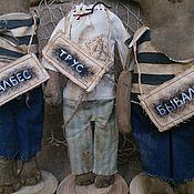 Куклы и игрушки ручной работы. Ярмарка Мастеров - ручная работа Кукла авторская Самогонщики...Трус. Балбес. Бывалый. Handmade.
