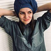 Аксессуары handmade. Livemaster - original item Cotton scarf. Handmade.