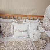 Для дома и интерьера handmade. Livemaster - original item Set in a baby cot. Handmade.