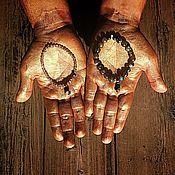 Украшения ручной работы. Ярмарка Мастеров - ручная работа Браслеты с метеоритом. Космос на ладони.. Handmade.