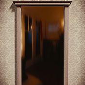 Для дома и интерьера ручной работы. Ярмарка Мастеров - ручная работа Настенное резное   зеркало из массива  дерева. Handmade.