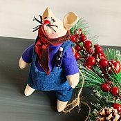 Куклы Тильда ручной работы. Ярмарка Мастеров - ручная работа Крысик. Handmade.