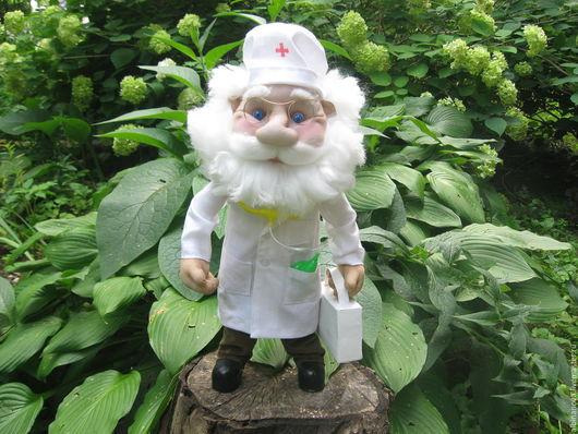 Коллекционные куклы ручной работы. Ярмарка Мастеров - ручная работа. Купить кукла  Доктор Айболит. Handmade. Кукла, кукла в подарок
